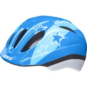 KED Meggy II Helmet Kids, blue stars